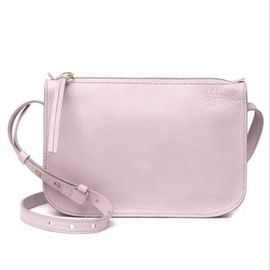 Madewell The Simple crossbody in dusk pink